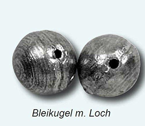 Bleikugeln Kugelblei Blei Angelbleie Bleie Loch, Gewicht:40g