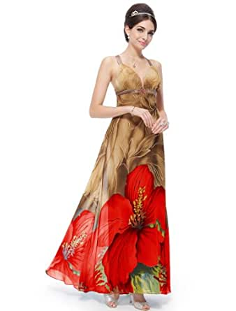 Ever Pretty Mother's Day Prom Maxi Party Dress Size 6 09651, HE09651RD06, Red, 6UK