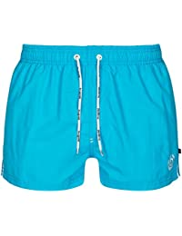 bugatti® - kurze Herren Badeshort in grün, marineblau, rot, schwarz oder türkis