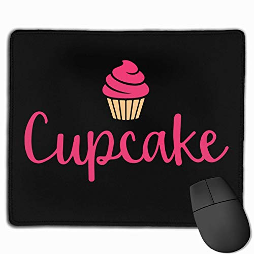 Rubber Mousepad Cupcake Print Gaming Mouse Pad Non-Slip ()