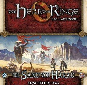 Fantasy Flight Games ffgd2652el señor de los Anillos: LCG–La Arena De Harad Juego de Cartas