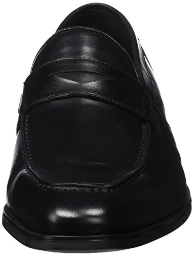 Geox Herren U New Life A Slipper Schwarz (Black)