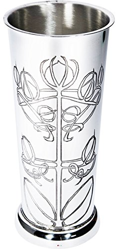 I Luv LTD Flower Vase Pewter Flared Footed Knox Design Ideal Retirement Gift -