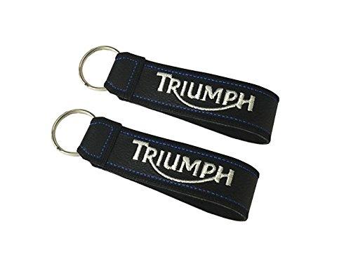 Moto Discovery Triumph cordón Llavero Doble Cara (1 Pieza)