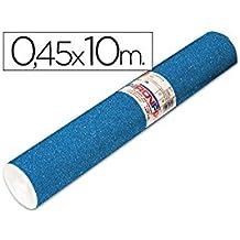 Aironfix 67802 - Rollo de lamina plástica autoadhesiva, 0.45 x 10 m, color azul