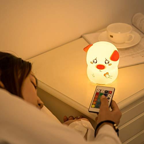 ZXF Kreativ als Herzschwein Smart USB-Aufladung Beat/Remote Free Farbe Silikonlicht/Nachtlicht Warm (Size : Fernbedienung) (Beat Box Remote)