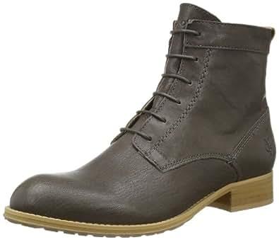 Marc O'Polo Lace Flat Heel Bootie 40110936301101, Damen Stiefel, Grau (grey 920), EU 40 (UK 6.5)