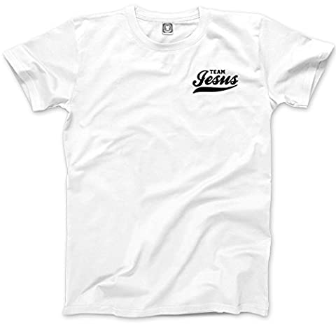Team Jesus Pocket Design - Mens Unisex T-Shirt - team jesus jesus costume pain and gain Funny bible - S white
