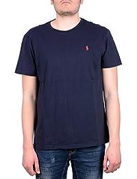T-shirt Ralph Lauren à manches courtes coupe classique - Ink