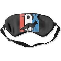 Retro Fox Silhouette 99% Eyeshade Blinders Sleeping Eye Patch Eye Mask Blindfold for Travel Insomnia Meditation preisvergleich bei billige-tabletten.eu