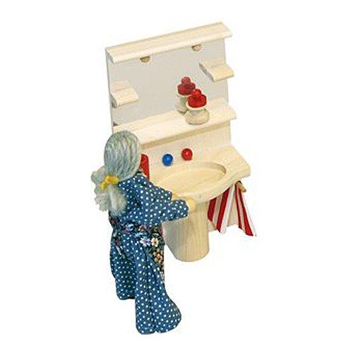 Preisvergleich Produktbild Rülke Holzspielzeug 22289 Waschbecken