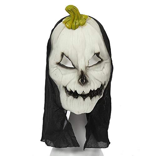 MROSW Haunted House of Horror Helle Halloween-Maske Furchtsame Grimassenmaske