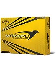 Callaway Warbird - Pack de 12 bolas de golf, color Amarillo