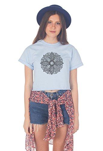Sanfran Clothing Damen T-Shirt Hellblau