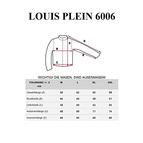 BOLF Herren Pullover Sweater Sweatshirt Strickpullover Pulli Slim Mix 5E5 Motiv Weinrot_6006