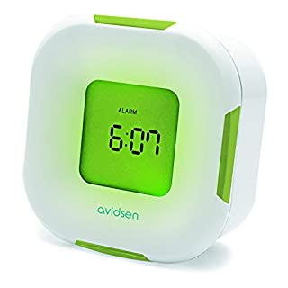 Avidsen 107243Thermometer with Clock/Alarm
