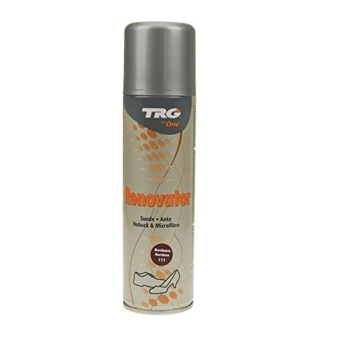 TRG Renovator Wildleder Nubuk Microfaser Pflegespray Imprägnierspray (Bordeaux)