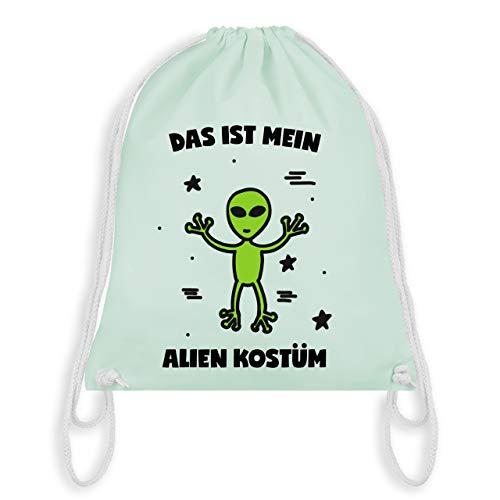 Karneval & Fasching - Das ist mein Alien Kostüm - Unisize - Pastell Grün - WM110 - Turnbeutel & Gym Bag