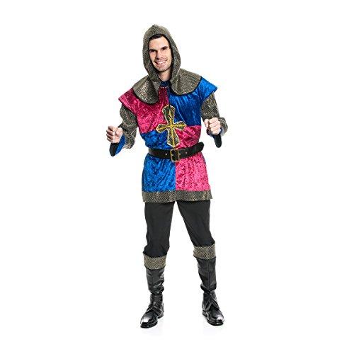 Ritter Männer Kostüm - Kostümplanet® Ritter-Kostüm Herren Mittelalter-Kostüm Größe 52/54