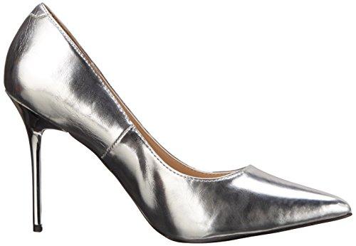 PleaserClassique 20 - Scarpe con Tacco donna Argento (Silver (Slv Met Pu))