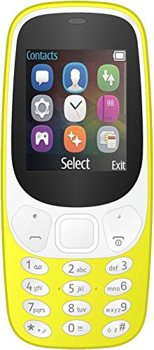 IKALL K3310 Dual Sim Mobile Phone - Yellow