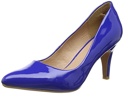 Lotus - Blithe, Scarpe col tacco Donna Blu (Blue (Electric Blue Shiny))