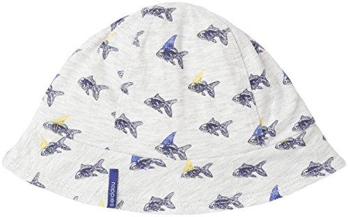 Noppies Baby-Jungen Mütze B Hat Jrsy Freeport, Weiß (Off White Melange C024), neugeboren (Herstellergröße:3M-6M) White Hats