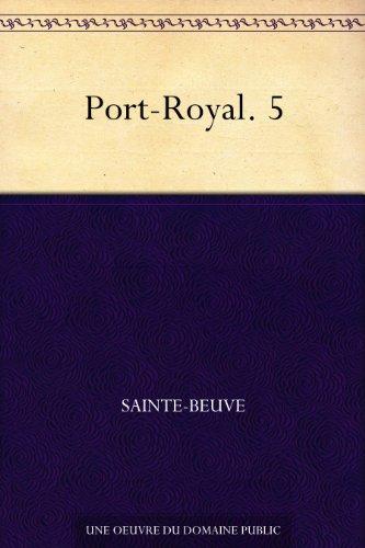 Couverture du livre Port-Royal. 5