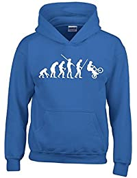 BMX Evolution Kinder Sweatshirt mit Kapuze HOODIE Kids Gr.128 - 164 cm