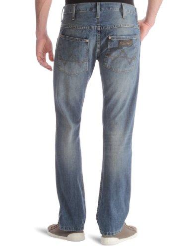 Wrangler - Spencer - Jeans slim - Homme Bleu (Vintage Washed - Smokin'Blue)