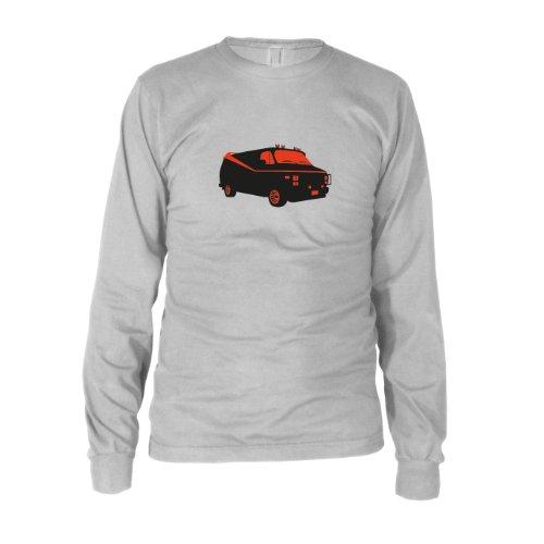 Team Van - Herren Langarm T-Shirt, Größe: XXL, Farbe: weiß