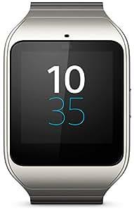 Sony Mobile SWR50MT SmartWatch 3 Montre Fitness et Tracker d'Activité Compatible avec Android 4.3+ Smartphones - Argent