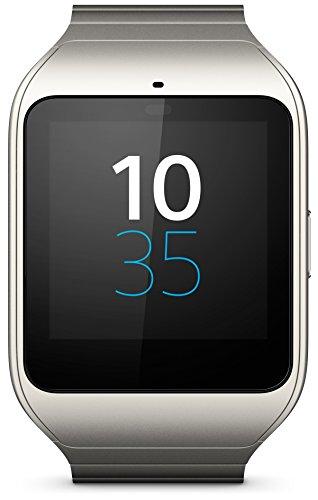 Sony Smart Watch 3 - Reloj inteligente (Quad-core 1.2 GHz, 512 MB de RAM, Stainless Steel, GPS propio) gris metálico