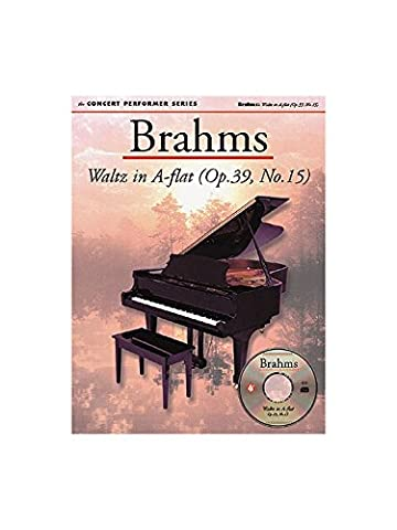 Brahms: Waltz In A Flat (Op.39, No.15). Partitions, CD-Rom pour Piano