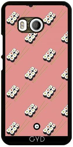 DesignedByIndependentArtists Hülle für HTC U11 - Sushi Mit Stäbchen by lovecotton