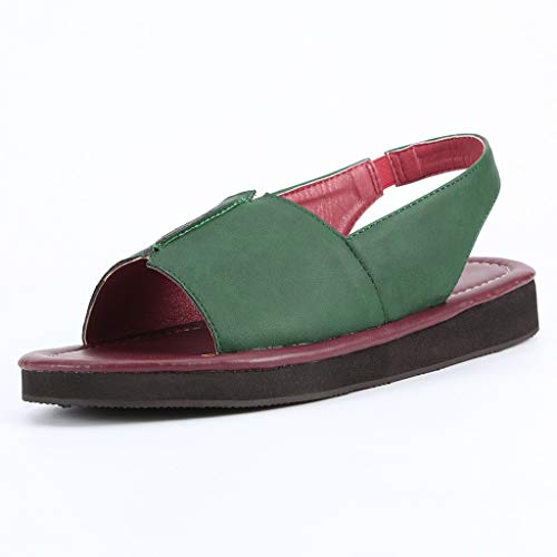 Bellelove 2019 Neue Frauen Vintage Flachen Boden Strand Schuhe Handgemachte Sandalen Schuhe Ankle Sandalen rutschfeste Wohnungen Schuhe - Nike Frauen Vintage Schuhe
