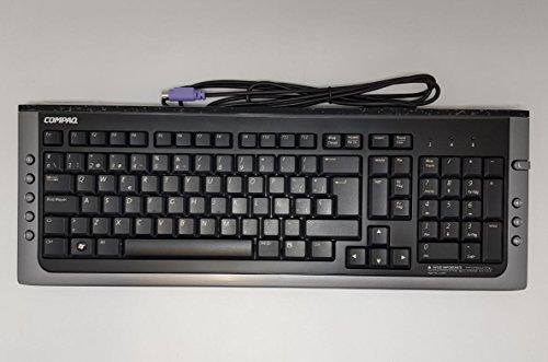 PARTSURFER Compaq Spanisch PS2Tastatur mit getreidereinigungskomplexe - Spanisch Ps2-tastatur