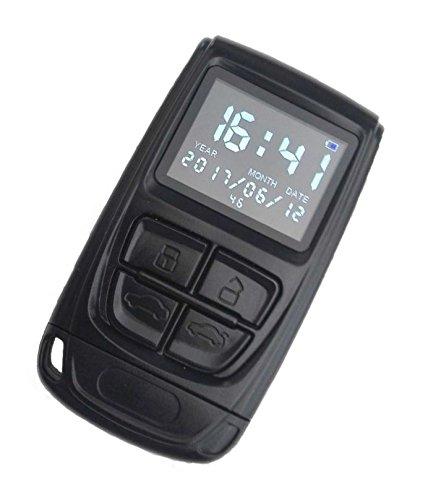 Kingdiscount HD-Spycam im Autoschlüssel - Mini-Kamera mit Display