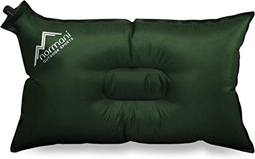 normani Selbstaufblasbares Kissen Outdoor Thermokissen Camping QuickFit Farbe Oliv
