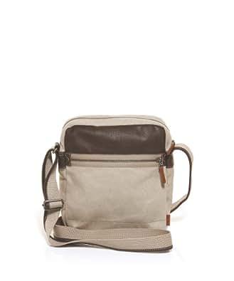 ESPRIT Mens im Materialmix Shoulder Bag Brown Braun (CHOCOLATE BROWN 248) Size: 25x29x7 cm (B x H x T)