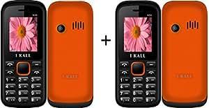 I Kall K55 set of 2 Dual Sim Mobiles (Orange & Orange)