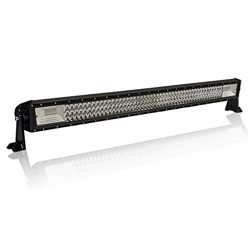 Preisvergleich Produktbild AUFUN 540W Arbeitsscheinwerfer Auto LED Light Bar Offroad Zusatzscheinwerfer Geführtes Arbeits-Licht-Bar Nebel Licht Wasserdicht IP67 für SUV UTV ATV, 1070 * 60 * 75mm (540W)