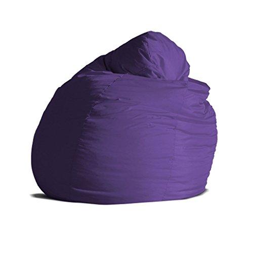 Sacco Poltrona Prezzi.Pouf Poltrona Sacco Grande Bag Xxl Jive Tessuto Tecnico Antistrappo Viola Imbottito Avalon