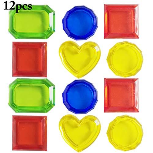 Joyibay 4 STÜCKE Tauchen Ringe Lustige Tauchen Pool Spielzeug mit 3 STÜCKE Algen Spielzeug