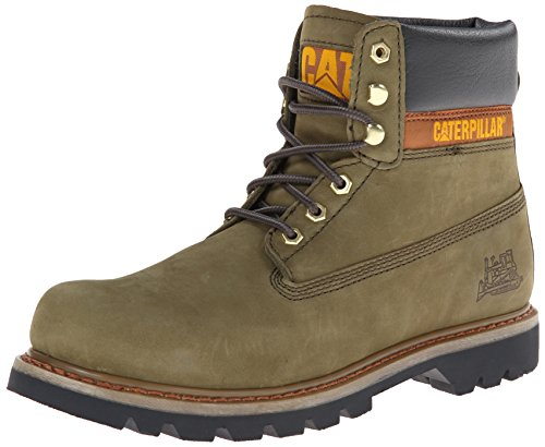 Caterpillar Men's Colorado 6' Lace-Up Work Boot Round Toe Avocado 11 D(M) US