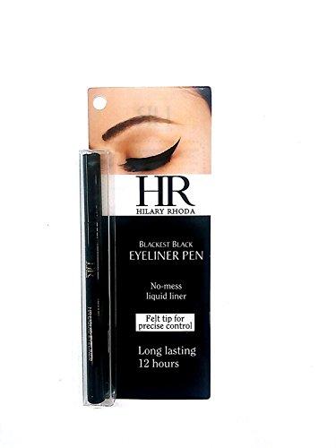 Hr Hilary Rhoda Blackest Eyeliner Pen, 1.2g (Black, H02)