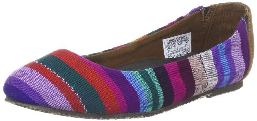 Reef Little Tropic Multi Stripe, Ballerines fille Multicolore - Mehrfarbig (Mixed (MULTI STRIPE))