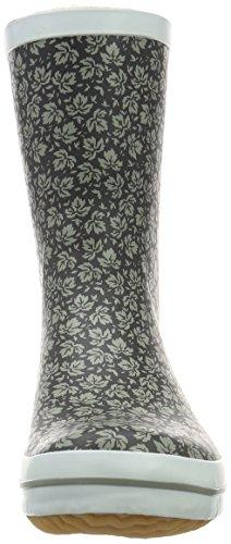 Kamik Shelly, Bottes mi-hauteur non doublées femme Multicolore - Mehrfarbig (BWT-BLACK/WHITE)