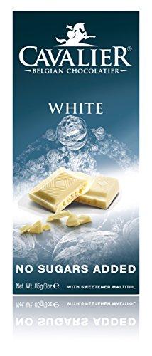 Preisvergleich Produktbild Cavalier Weiße Schokolade mit Maltit,  85g