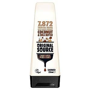 Original Source Moisturising Coconut & Shea Butter Shower Gel 250ml (PACK OF 6)